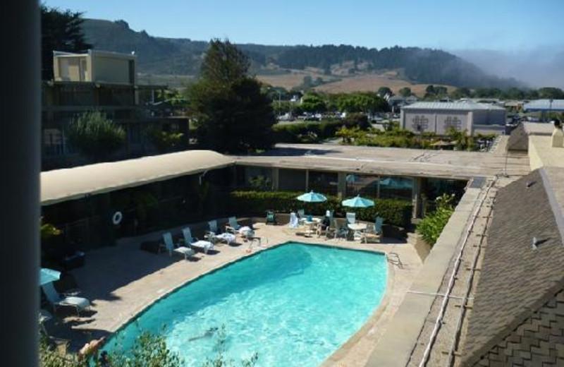 Outdoor Pool at Carmel Mission Inn