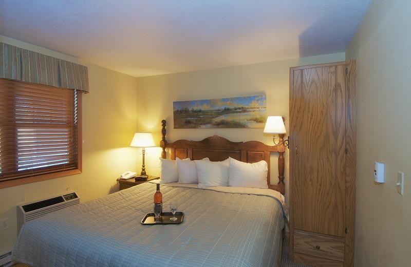 Guest room at Newport Resort.