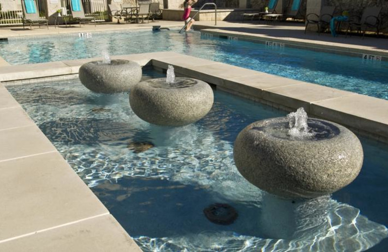 Outdoor pool at Homewood Suites by Hilton Plano Richardson.