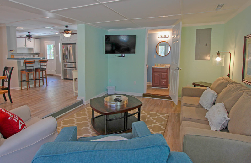 Living room at 21st Ave 37.