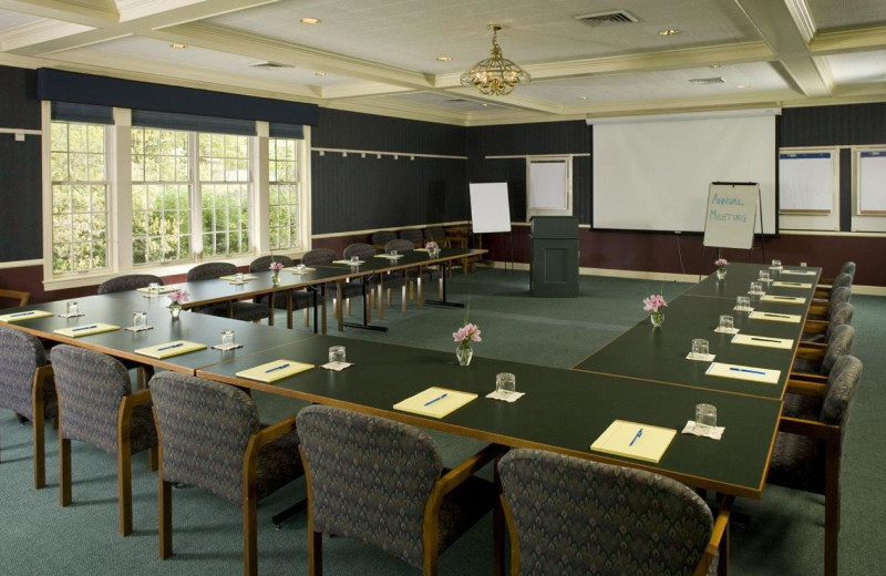 Conference room at Pine Crest Inn.