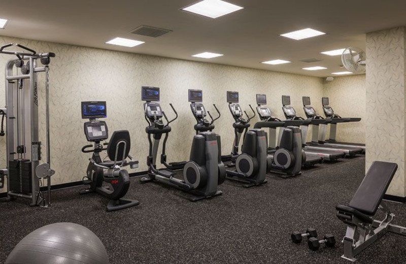 Fitness Center at Courtyard San Diego Downtown