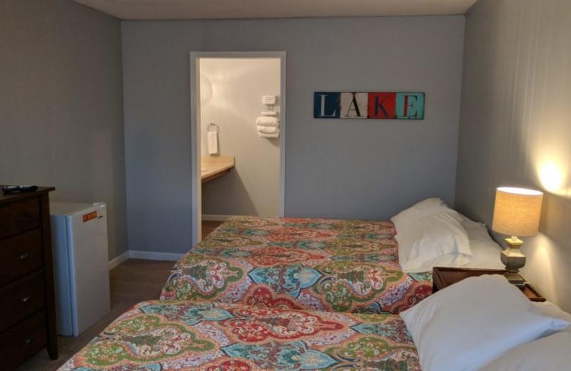 Guest room at Kapilana Resort.