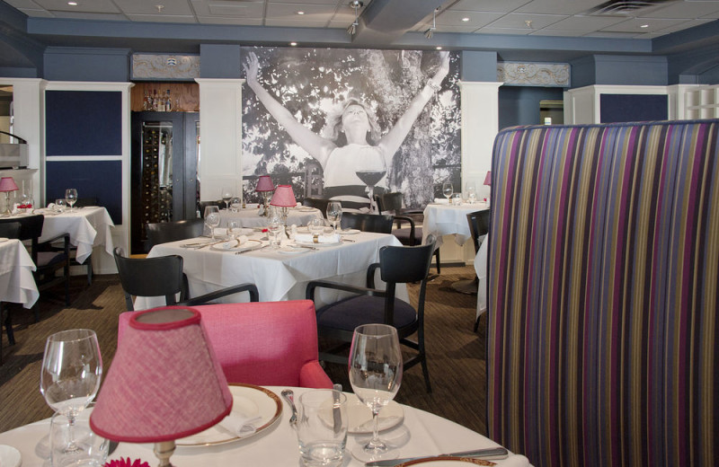 Dining at Best Western Premier Hotel Aristocrate.
