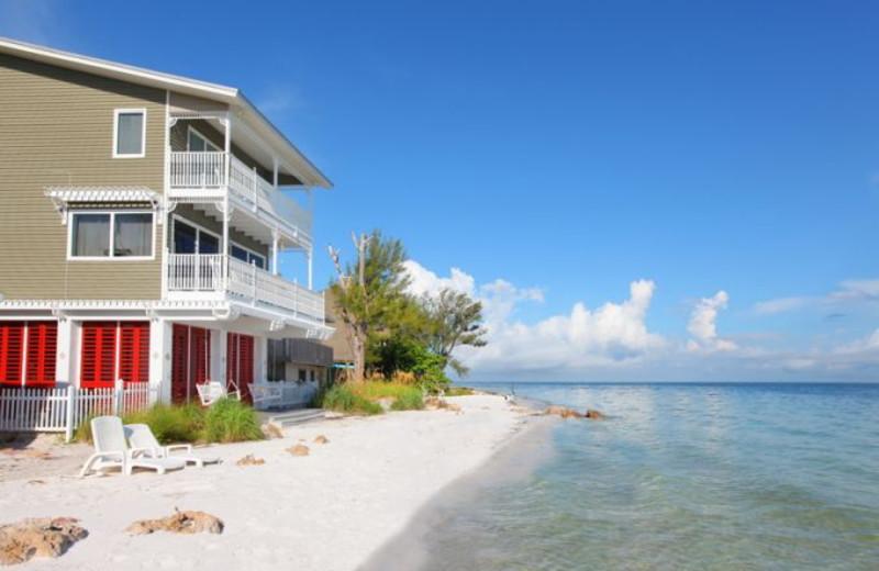 Rental exterior at Anna Maria Vacations.