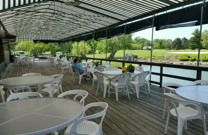 Patio at Sawmill Creek Resort.