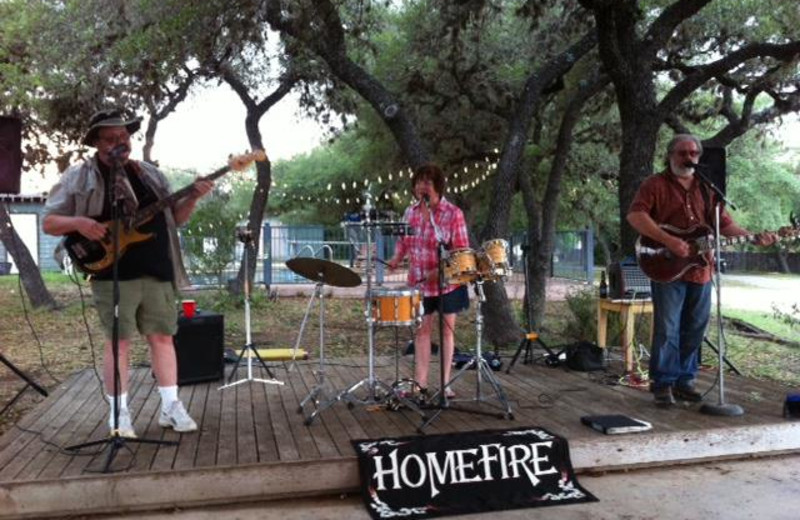 Entertainment at Leakey Inn