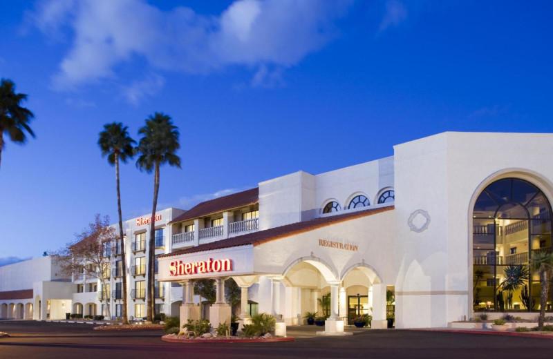 Exterior view of Sheraton Tucson Hotel & Suites.