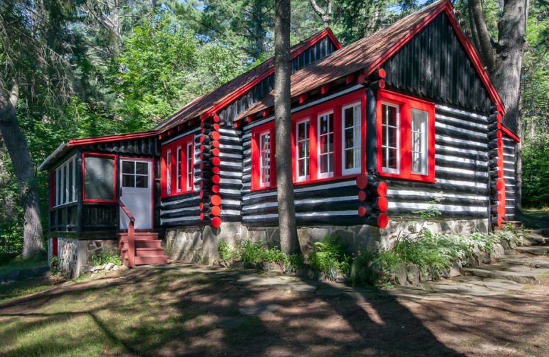 Crowe Cabin at Killarney Lodge in Algonquin Park.
