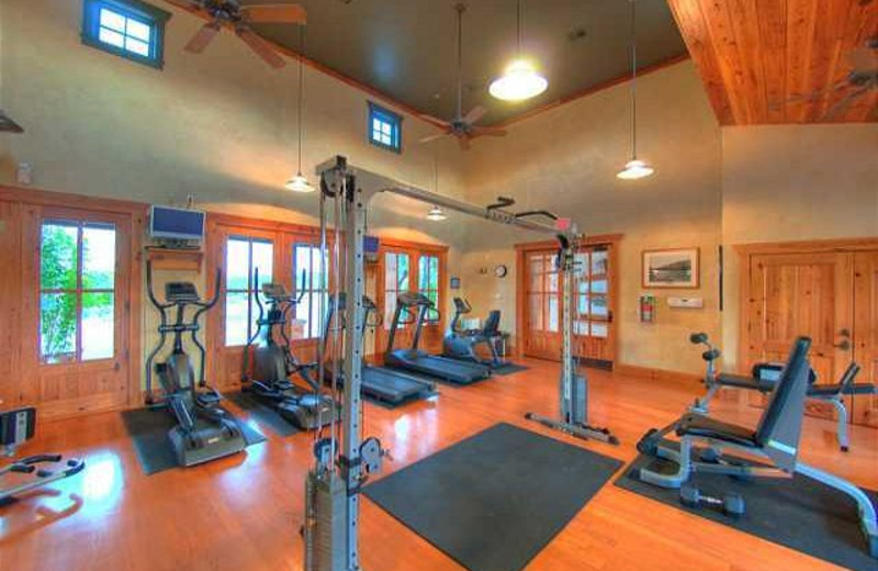 Fitness center at Lake Travis & Co.