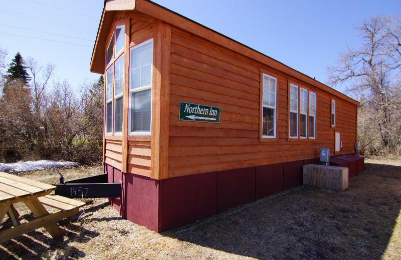 Cabin at Devils Lake Adventures.