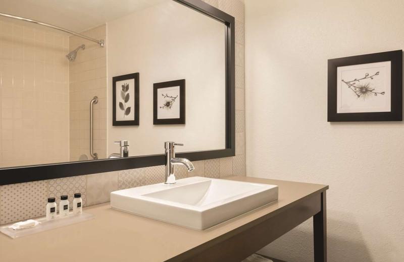 Guest bathroom at Country Inn & Suites - Fergus Falls.