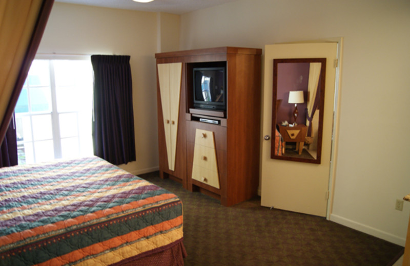 Guest room at Westgate.