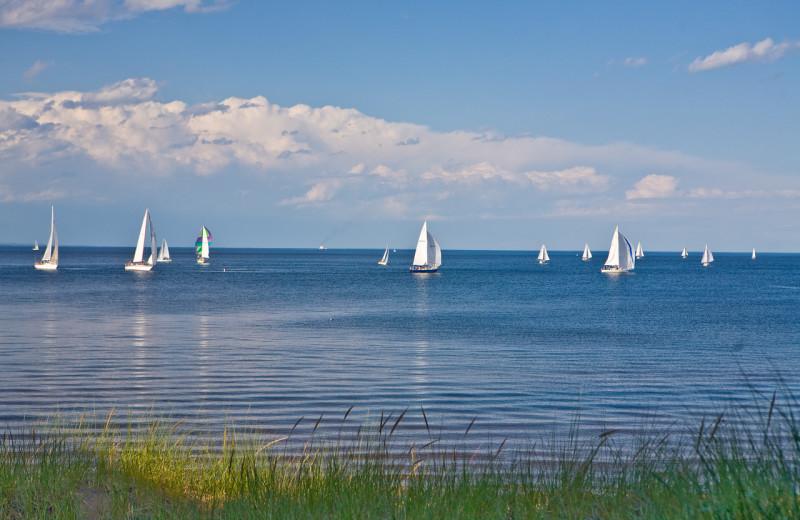 Sailboat Regatta in Duluth