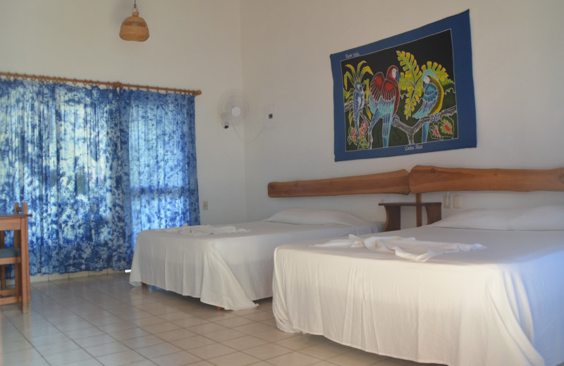 Guest room at Hotel Pochote Grande.