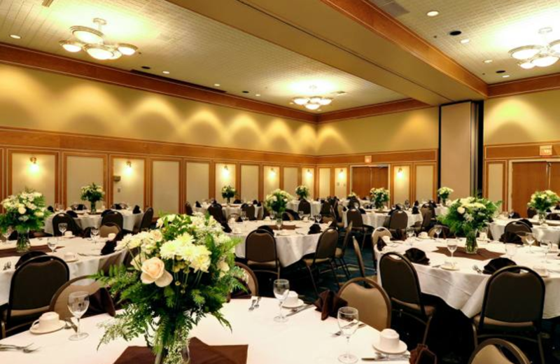 Conference at Campbell's Resort on Lake Chelan.