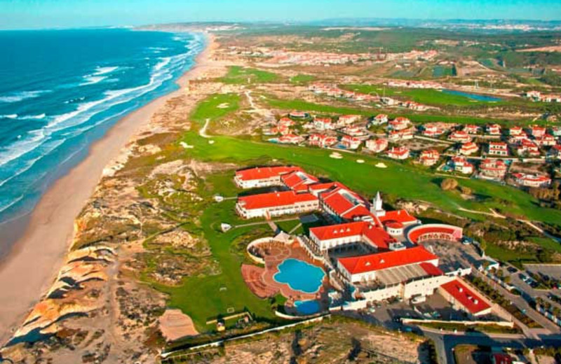 Aerial view of Marriott Praia D'el Rey Golf & Beach Resort.