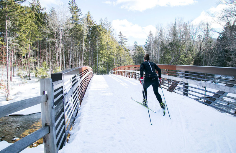 Ski at Waterville Valley.