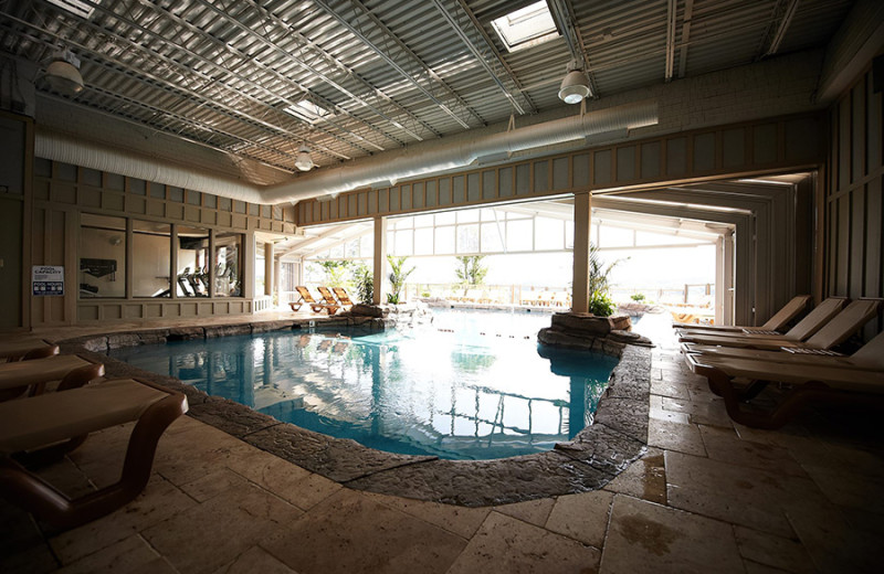 Indoor pool at Fourwinds Resort & Marina.