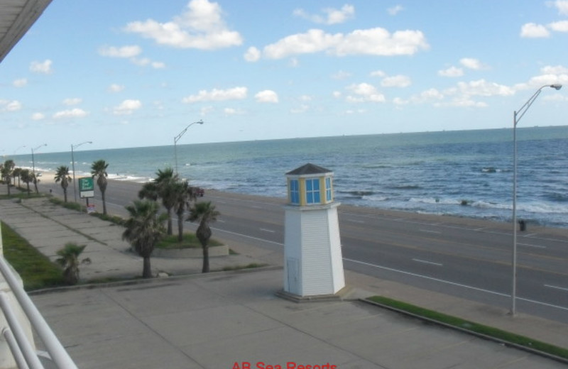 Resort view at A B Sea Resorts.