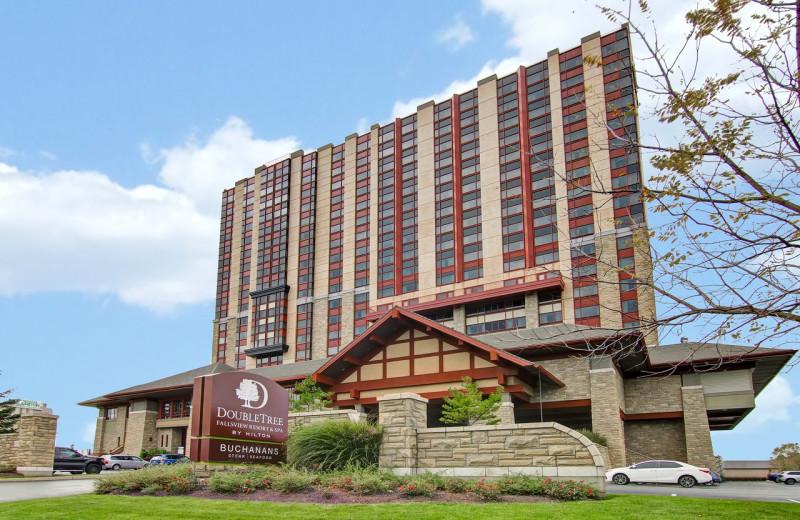 Exterior view of DoubleTree Fallsview Resort & Spa by Hilton - Niagara Falls.