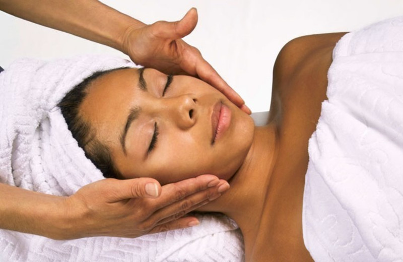 Spa facials at Kalahari Waterpark Resort Convention Center.