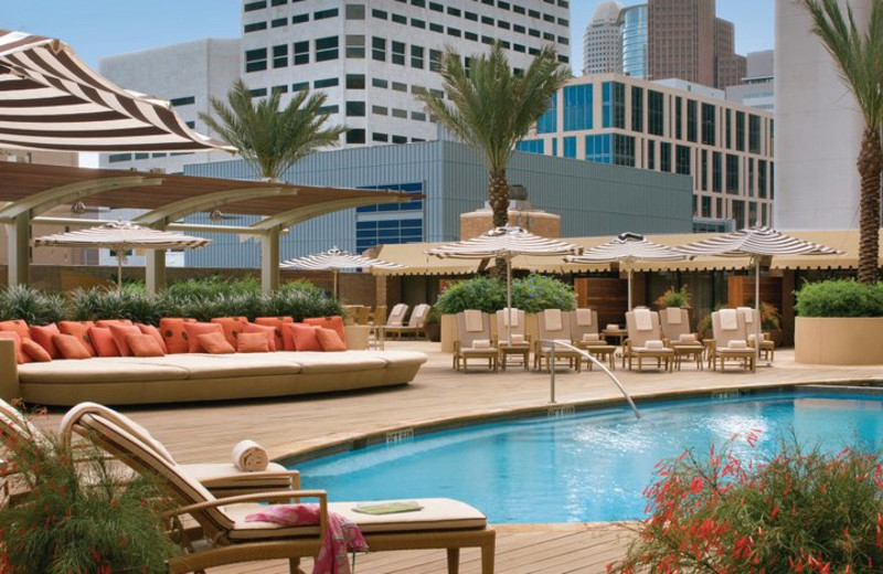 Outdoor Pool at the Four Seasons Hotel - Houston