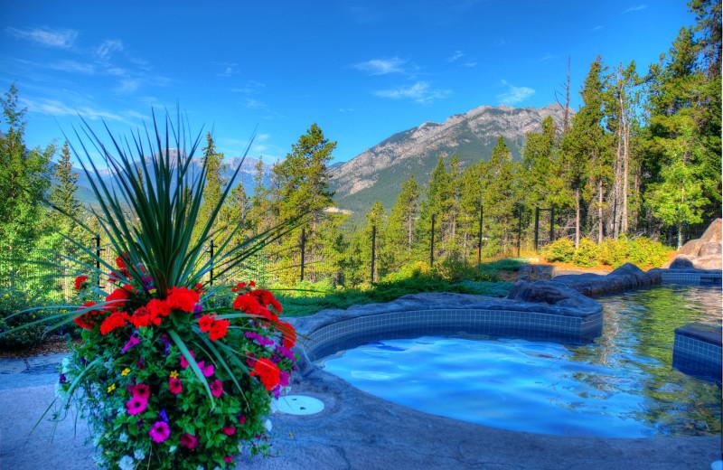 Pool at Hidden Ridge Resort.