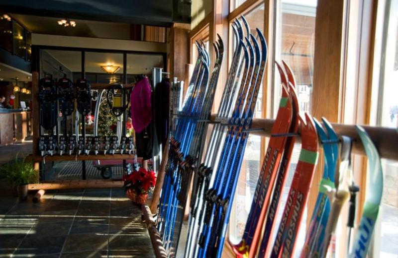 Ski rentals at Elk Ridge Resort.