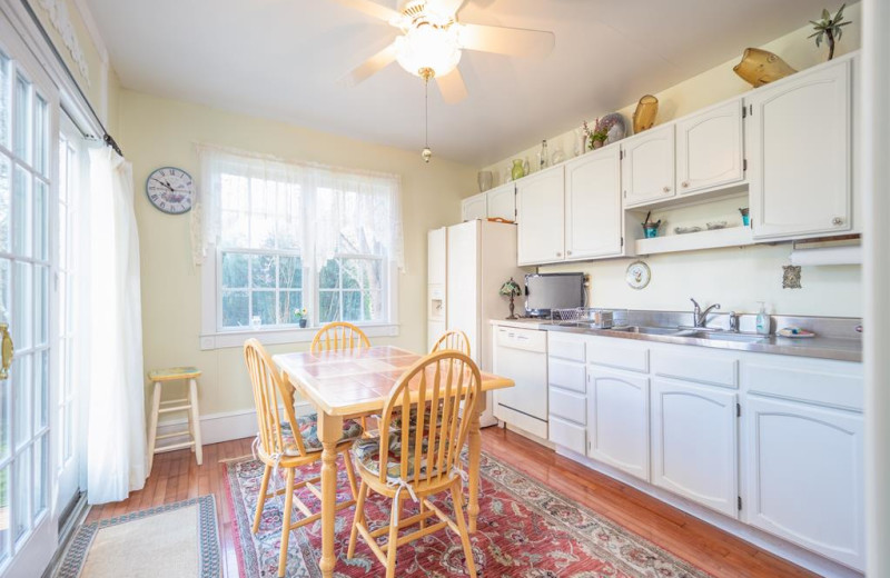 Rental kitchen at Jersey Cape Realty.