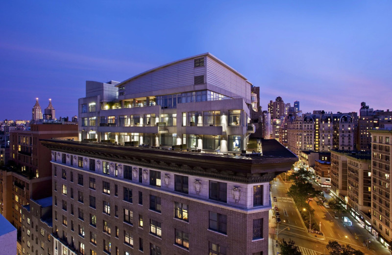 Exterior view of Arthouse Hotel New York City.
