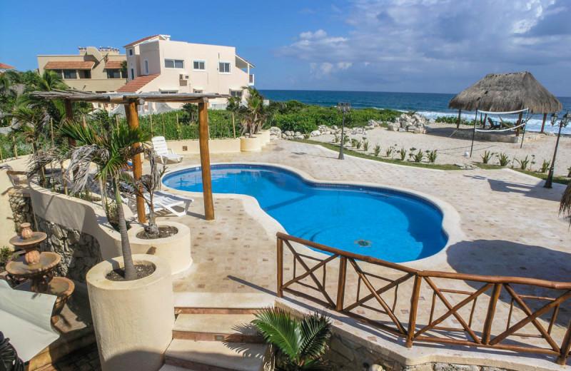 Rental pool at Casa Iguana.