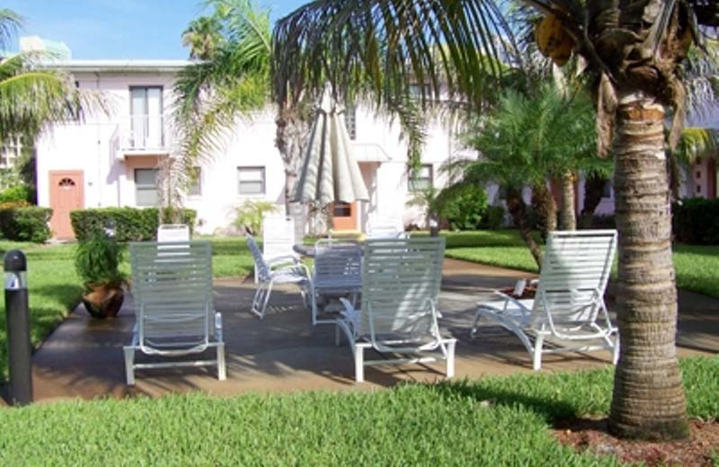 Vacation rental exterior at Gulf Winds Resort Condominiums.