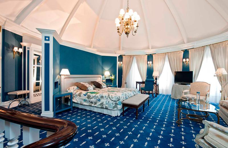Guest room at Hotel Real, Santander.