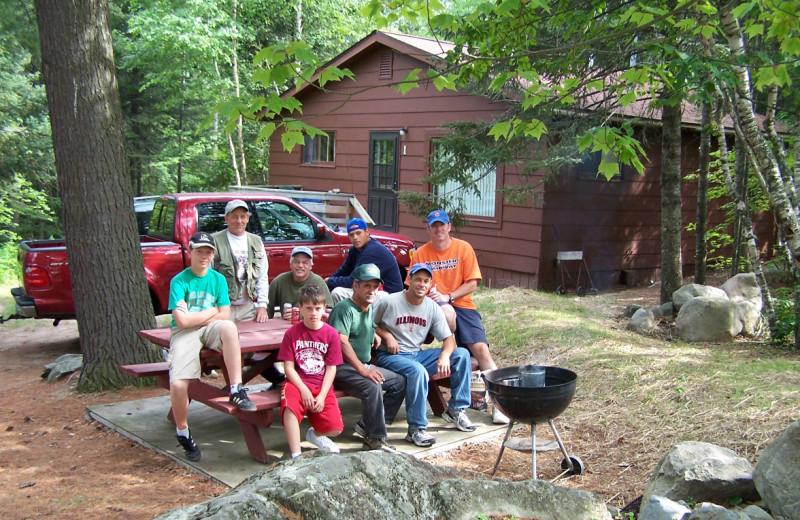 Family at Glenmore Resort.