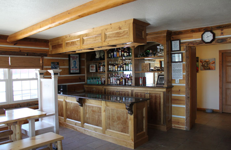 Bar at Colorado Cattle Company Ranch.