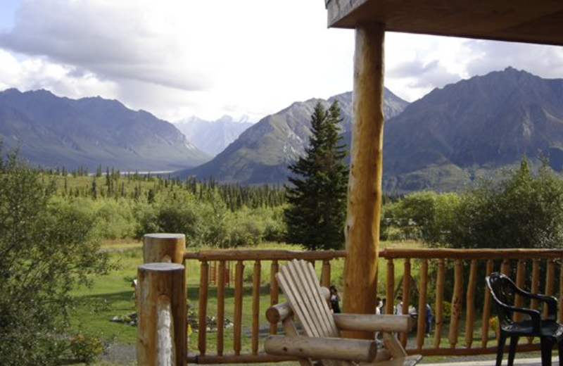 Mountain view at Majestic Valley Lodge.