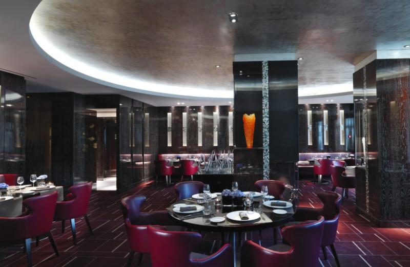 Dining at Mandarin Oriental Hotel du Rhône.