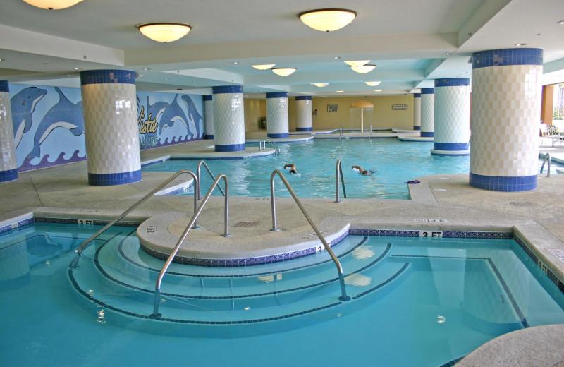 Indoor pool at Mar Vista Resort Grande.