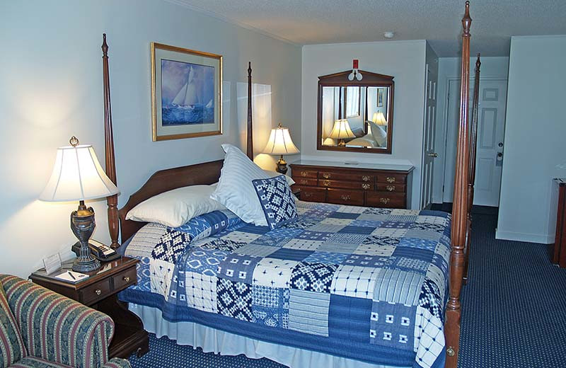 Guest room at Cod Cove Inn.