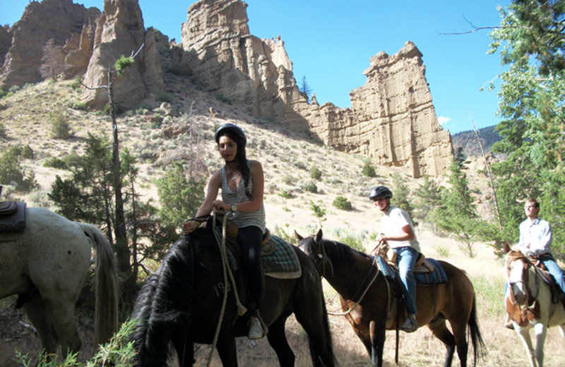 Trail Riding at Bill Cody Ranch