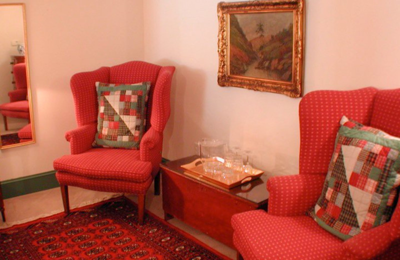 Seating Area at Barnside Luxury Inn