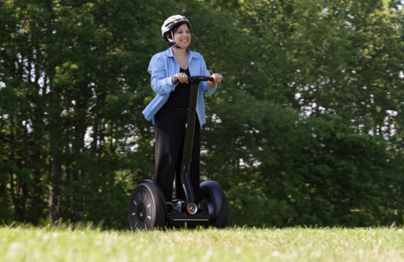 Segways at Stonewall Resort.