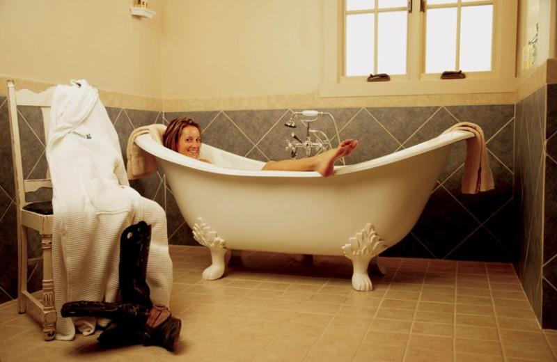 Spa bath at Rancho De Los Caballeros.