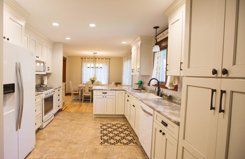 Cottage kitchen at Mission Springs Resort.