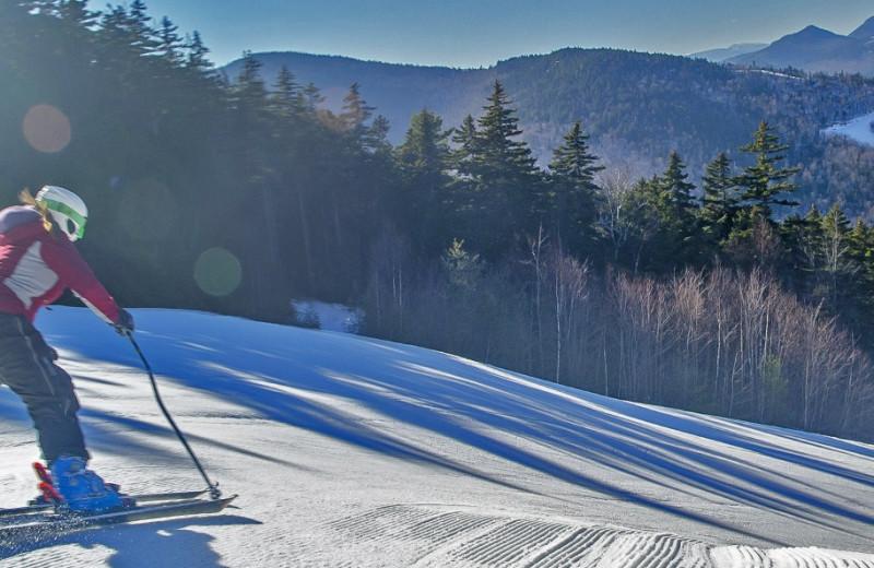 Ski near Attitash Mountain Village Resort.