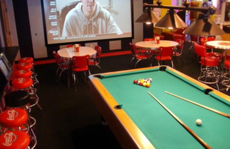 Game Room at Icicle Village Resort