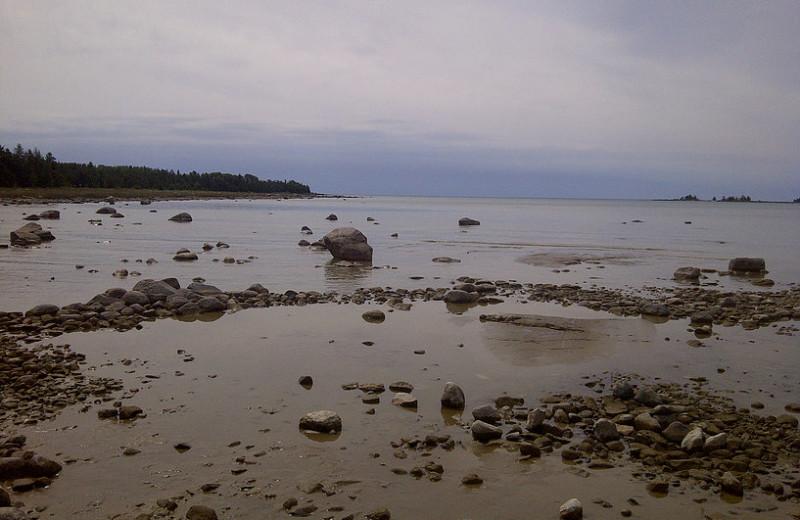 Beach near Black Rock Resort.