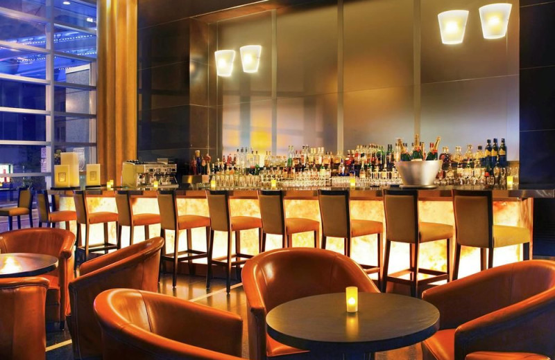 Bar at Sofitel Montreal Golden Mile.