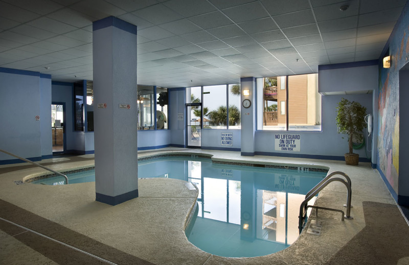 Indoor pool at Forest Dunes Ocean Front.